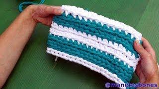 Bolso De Trapillo Crochet Xxl Paso A Paso Tutorial DIY