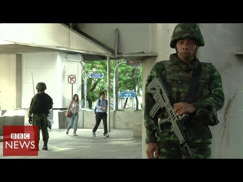 Thailand Coup: Waking up under military rule - BBC News