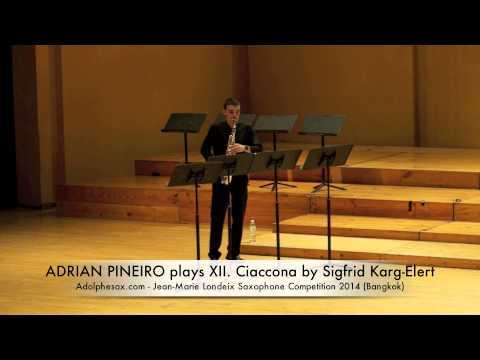 ADRIAN PIÑEIRO plays XII Ciaccona by Sigfrid Karg Elert