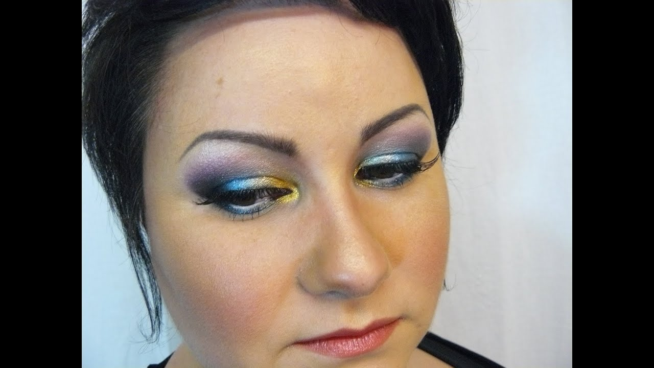 Maquillage De Soir E Avec Sugarpill Youtube