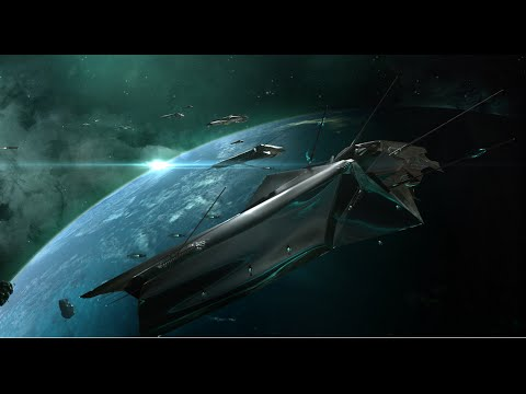 Eve Online: Operation Trireme: Catching a Drifter Battleship!