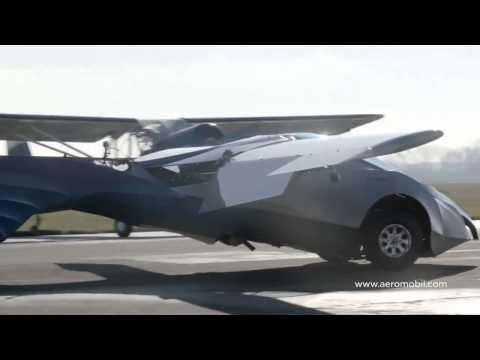 ¡Crean Auto Volador! Aeromobil 2.5- setiembre 2014