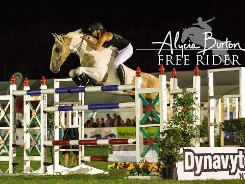 Alycia Burton Free Riding Demo at Horse of The Year