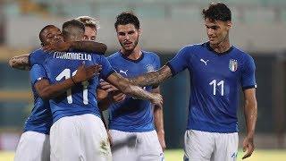 U21 Italia-Moldavia 4-0: il match visto dalla Vivo Azzurro Cam