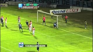 Gol de Haberkorn. Gimnasia (J) 1 - Instituto 2. Fecha 8. Torneo Primera B Nacional. FPT