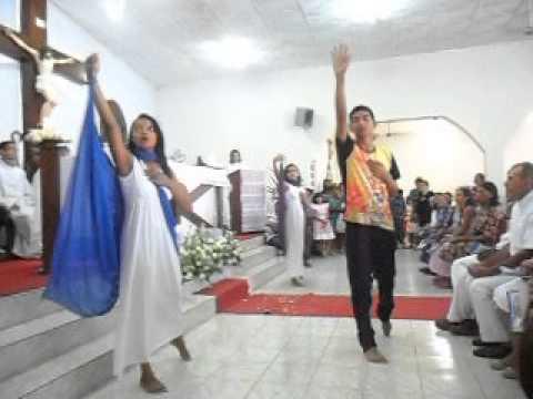 Grupo de Dança Adonai-Paroquia Nossa Senhora do Patrocínio-Canarana-BA, Diocese de Irecê
