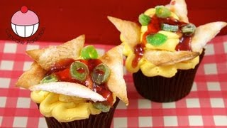 Make Nachos CUPCAKES! Mexican Cupcakes In Disguise A