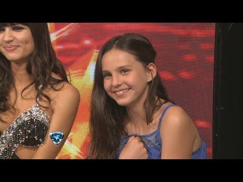 Showmatch 2014 - Las travesuras de la hija de Tinelli en la pista de Showmatch