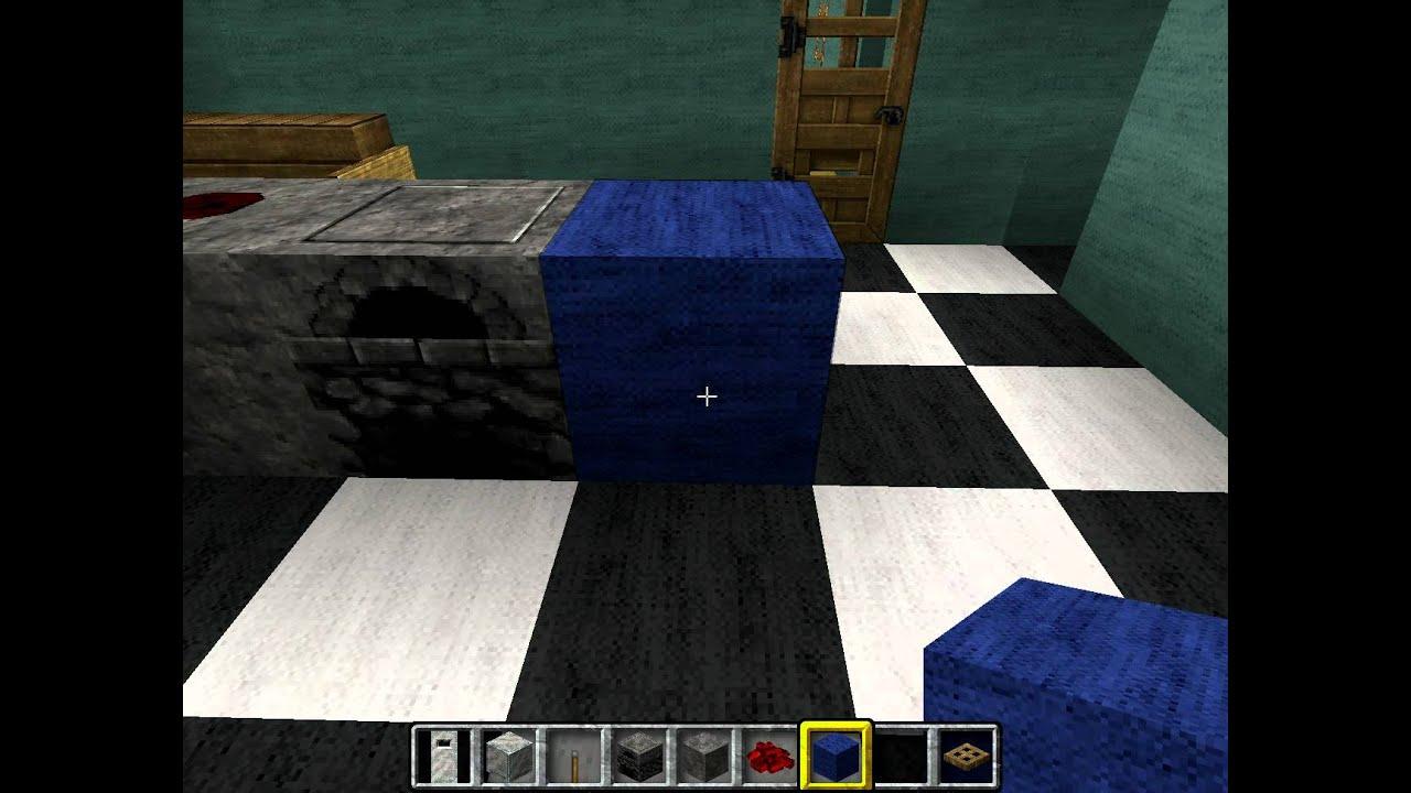 minecraft k che einrichten youtube. Black Bedroom Furniture Sets. Home Design Ideas