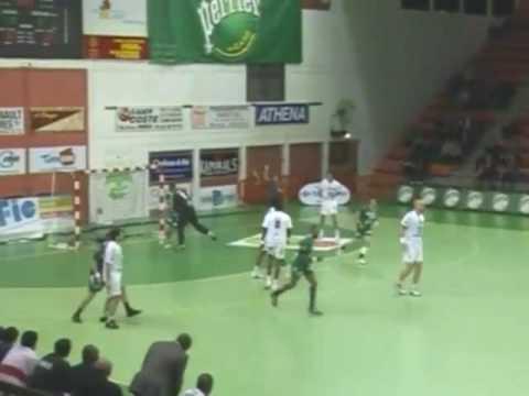 Handball n mes gagne contre paris tele miroir sur for Tele miroir nimes
