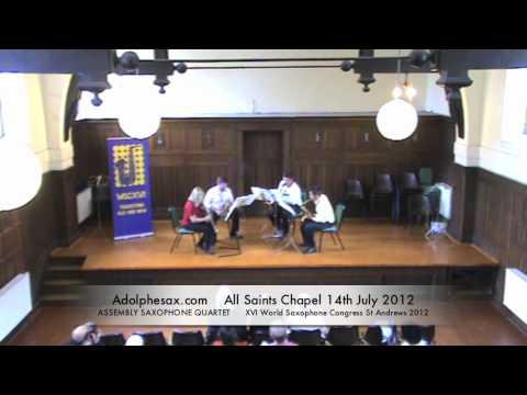 WSCXVI ASSEMBLY SAXOPHONE QUARTET   Prodigal Child by John Fitz Rogers