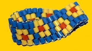 Cómo Hacer Una Pulsera Con Cuentas De Hama. Hama Beads