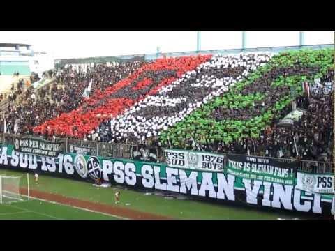 [PSS Sleman] Coreo P.S.S from Brigata Curva Sud - Italian Color