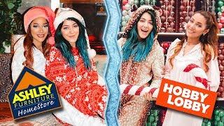 Christmas Ugly Location Photoshoot Challenge! Niki and Gabi
