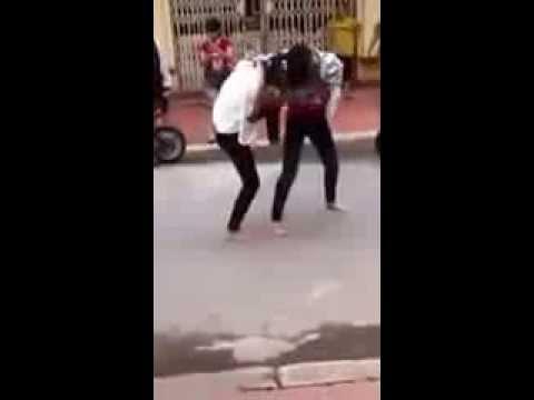 Clip nữ sinh Hải Phòng đánh nhau mới nhất 2013