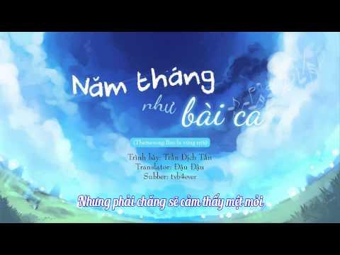 [Vietsub] Năm tháng như bài ca (歲月如歌) - Trần Dịch Tấn | Themesong phim Bao la vùng trời