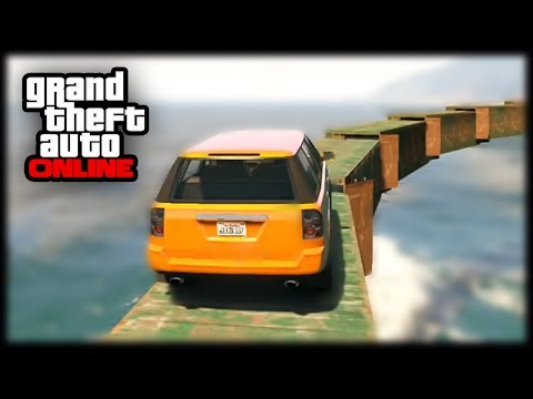 GTA 5 Funny Moments - Insane SUV Obstacle Course - Fails In GTA 5 Online ! [GTA V]