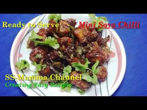 Mini Soya Chilli Restaurant Style...
