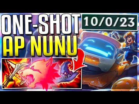 CAN AP NUNU REWORK STILL ONE-SHOT???? Nunu Full AP Mid Gameplay | League of Legends