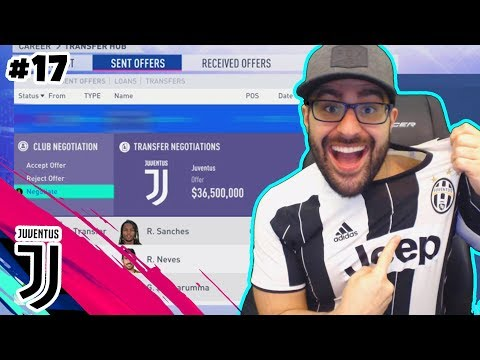 WOW WE SIGNED THE BEST PLAYER IN THE WORLD! - FIFA 19 CAREER MODE JUVENTUS #17