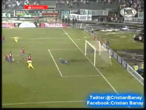 Oriente Petrolero 1 Nacional 0 (Relato Gustavo Cima) Copa Libertadores 2014 (28/1/2014)