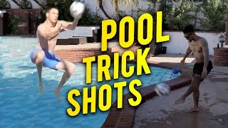 EPIC TRICK SHOTS!   F2 GOES HOLLYWOOD