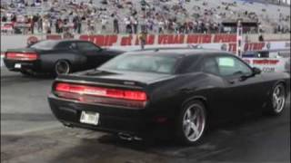 Dodge Challenger SRT8 fly by's and idle ! videos