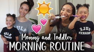MORNING ROUTINE | Toddler & Single Mom! | RAVEN ELYSE