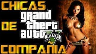 """GTA V """"CHICAS DE COMPAÑIA"""" Como Y Donde Contratar Sus"""