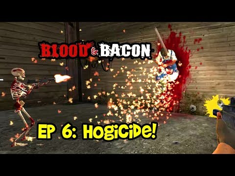 HOGICIDE! Blood and Bacon Gameplay, Multiplayer Coop Funny Moments Ep 6!