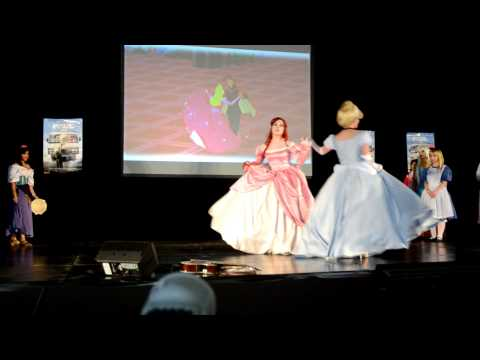 Melbourne Supanova 2011 - Disney Princess Cosplay Skit,