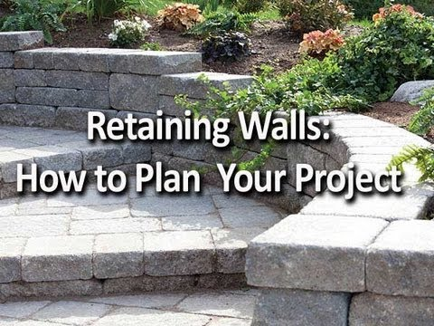 How to Build a Retaining Wall Installation Help From