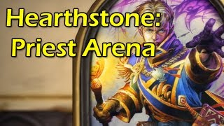 Hearthstone: Priest Arena/Draft with Wowcrendor (Closed Beta Gameplay)