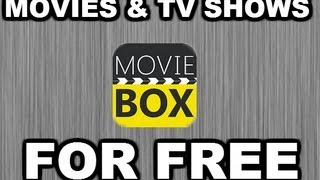 Movie Box For IPhone, IPad, And IPod Touch WATCH AND