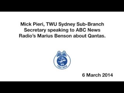 Mick Pieri speaks with ABC Radio about Qantas