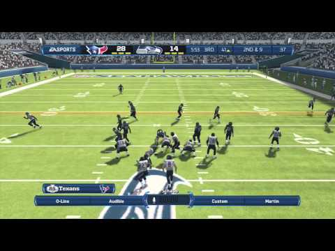 Madden NFL 13: Madden 13 Online Ranked Match Texans Vs. Seahawks - F.A.G Defense Tips