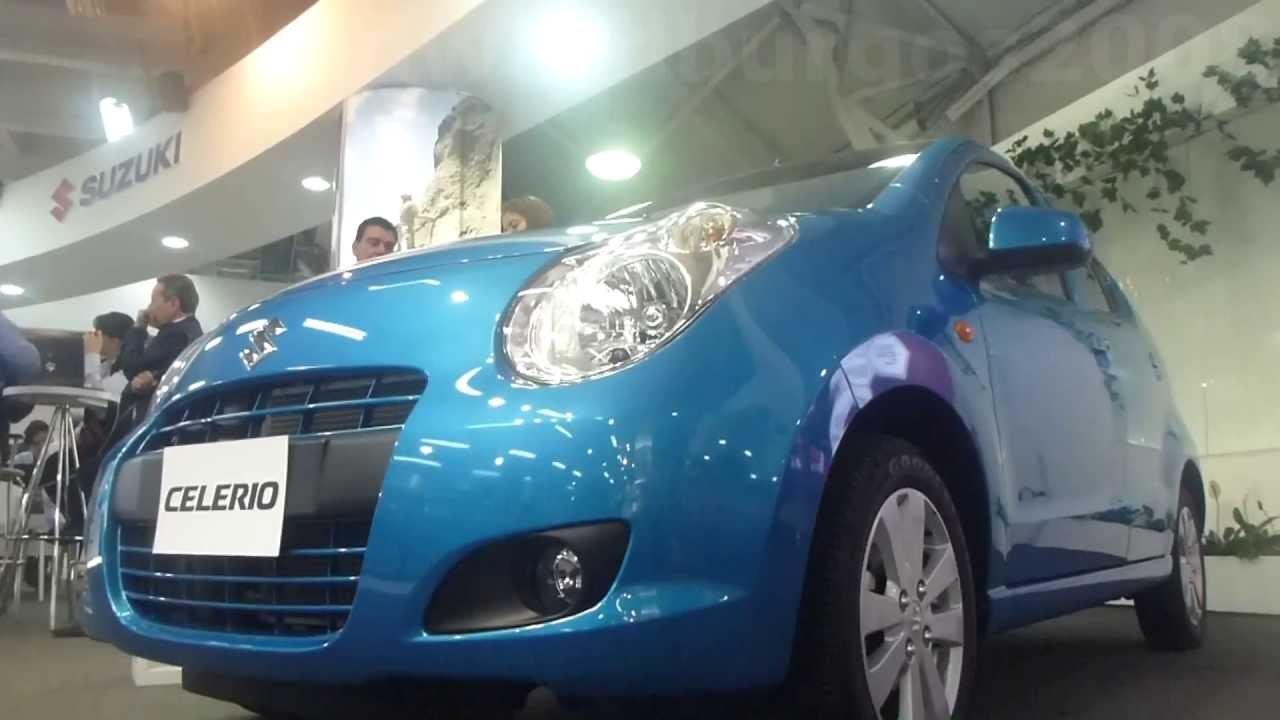2013 Suzuki Celerio 2013 al 2014 video review Caracteristicas Salón