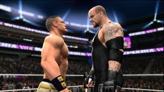 WWE 2K14 John Cena Attempts To Defeat The Streak In