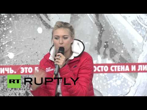 Russia: Maria Sharapova returns to her Sochi stomping ground