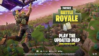 Fortnite - Battle Royale Map Update