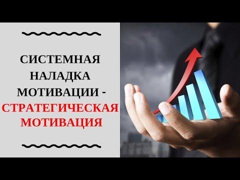 1.2 Мотивация - Стратегическая мотивация