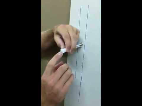Wall Mount World Video #132 installing metal stud bolts