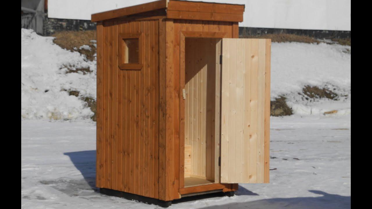 Как сделать комфортный туалет на даче