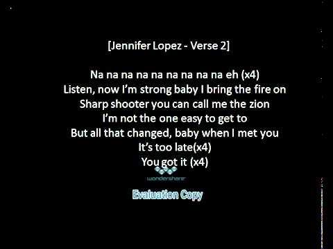 Jennifer Lopez-na na na eh