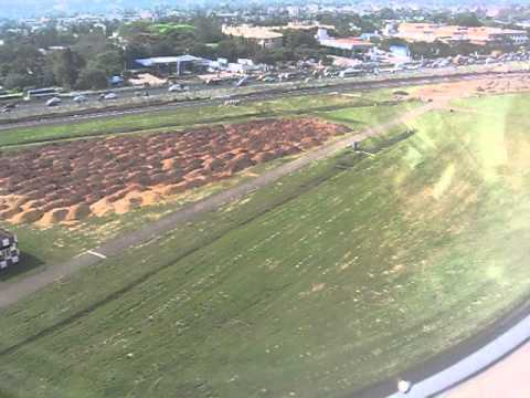 SpiceJet flight landing at Chennai Kamarajar International Airport