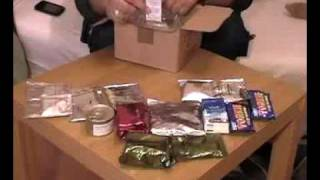 United Kingdom British ARMY MRE 24hr Ration: NATO certified