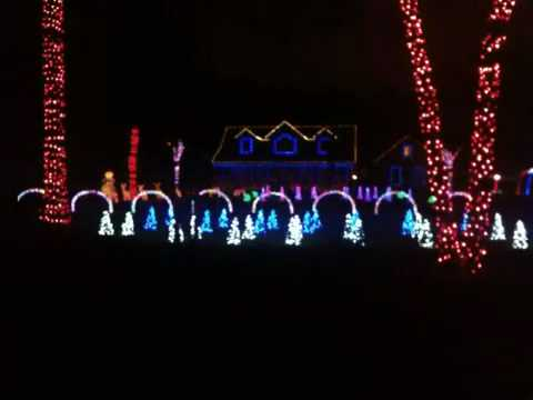 Christmas lights in Jacksonville fl. on iphone - YouTube