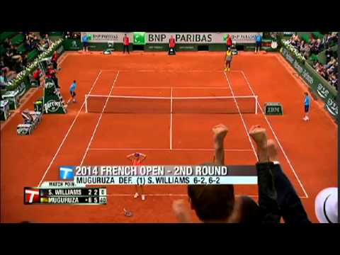 Watch French Open Highlights Brought to You By the Tennis Channel