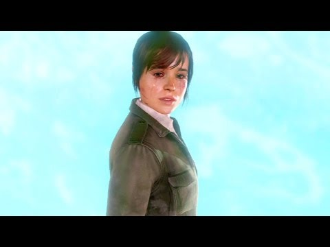 Beyond Two Souls: Final Branco Super Épico PS3 HD Gameplay