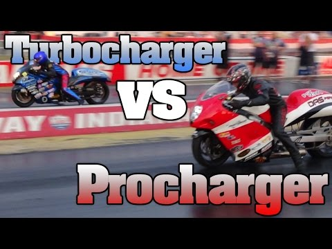 Turbo vs Supercharger Pro Street Hayabusa epic final battle, fastest b